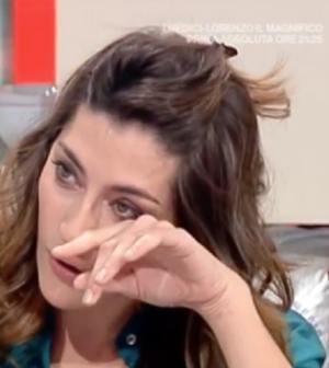 foto Elisa Isoardi triste
