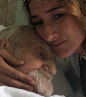 foto morto nonno mariano nina Palmieri le iene