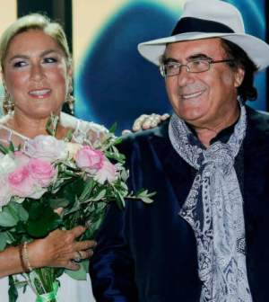 foto albano Romina Power 55 passi nel sole
