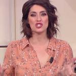 """Elisa Isoardi ammette a La prova del cuoco: """"Ieri ho sbagliato"""""""