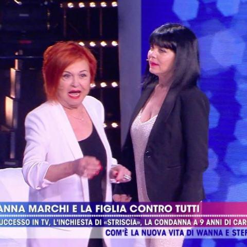 Wanna Marchi e Stafania Nobile: