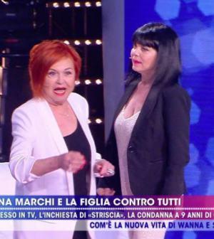foto Wanna Marchi Stefania Nobile live non è la d'urso