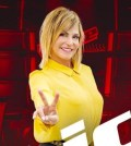 Foto Simona Ventura a The Voice of Italy 2019