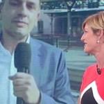 """Roberto Poletti e Valentina Bisti. Coruzzi: """"Lui a volte è a disagio"""""""