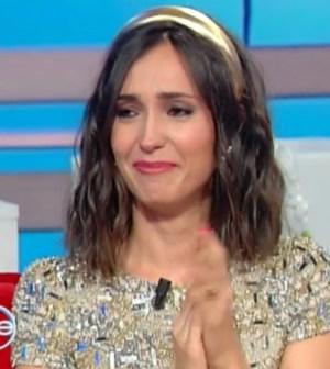 Foto Caterina Balivo in lacrime a Vieni da me