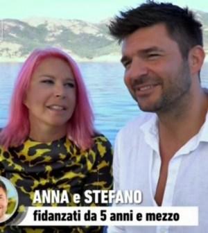 Foto Anna Pettinelli e Stefano Macchi a Temptation Island Vip 2
