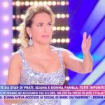 """Barbara D'Urso imbarazzata, moglie di Caniggia: """"È una tro**"""""""