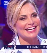 Foto Simona Ventura a La vita in diretta