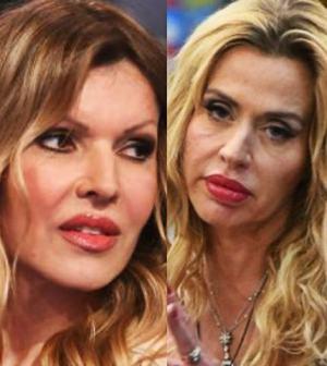 foto Rita Rusic contro Valeria Marini Cecchi Gori