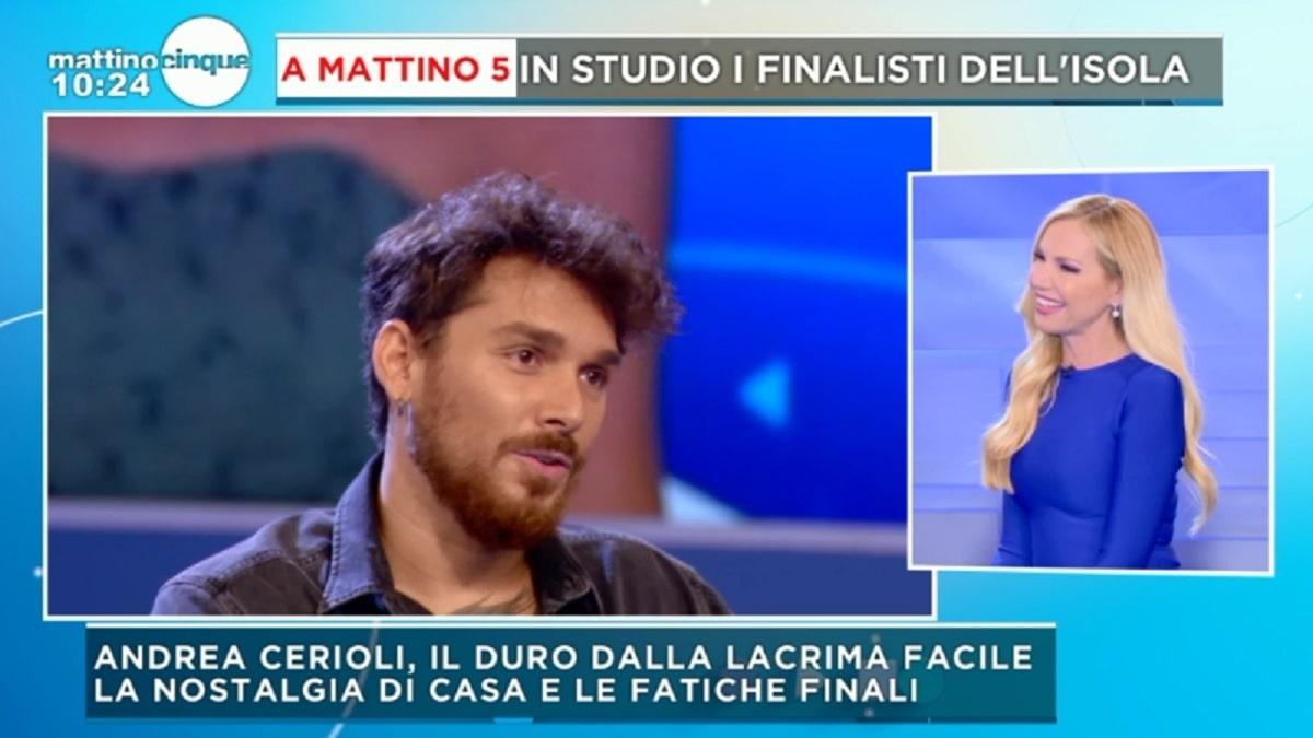 """Mattino 5, Andrea Cerioli rivela: """"Mi sono riscoperto sotto tanti aspetti"""""""
