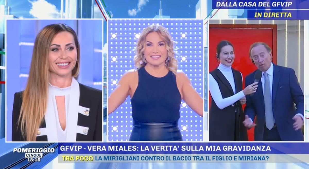 """Pomeriggio Cinque, Amedeo Goria punge Vera: """"Richiamo d'Urso più forte del mio"""""""