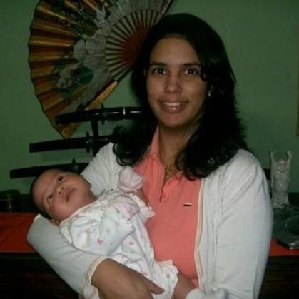 karolyn castro y su bebe