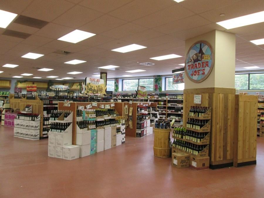 Trade Joes supermarket