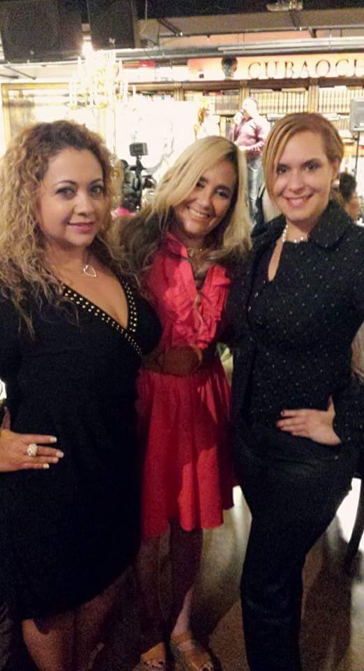 Las bellas Leidi Baldo, Marisol Casola y Celina Herrera.