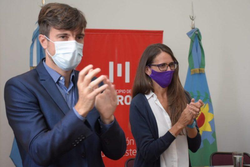 Resultado de imagen para Ghi y la ministra Gómez Alcorta firmaron convenios para promover políticas de géneros