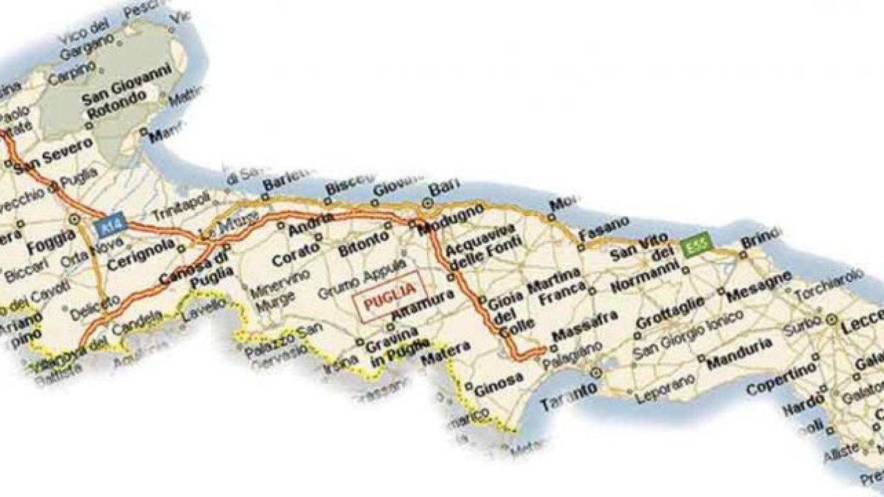 Salve Puglia Cartina.Salve Solo 43 Province In Puglia Restano Bari Lecce E Foggia Lanotiziaweb It