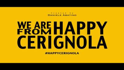 We are happy from cerignola