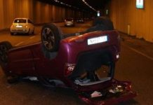 Foto incidente stradale