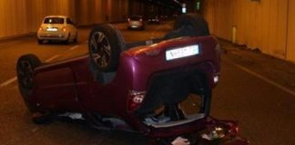 Foto incidente stradale