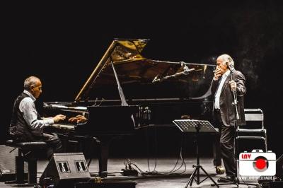 """Gino Paoli e Danilo Rea """"Due come noi"""", La Contrada - Trieste © Fabrizio Caperchi Photography / La Nouvelle Vague Magazine 2017"""