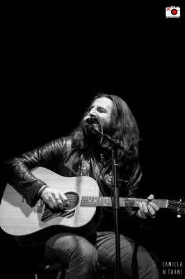 Omar Pedrini all'Anxur Festival- Foto di Camilla Trani