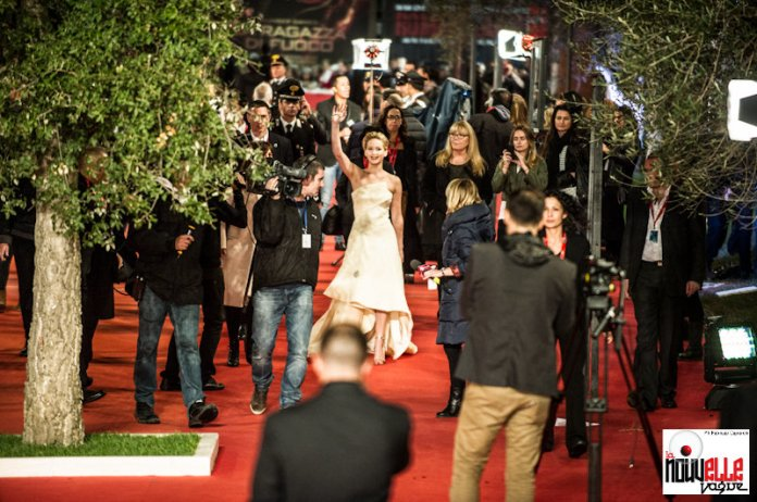 Roma Film Festival 2013 - Jennifer Lawrence - Il Red Carpet - Foto di Fabrizio Caperchi