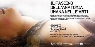 Il fascino dell'anatomia umana nelle arti - Tavola rotonda e proiezioni alla Fabbrica del Vapore di Milano