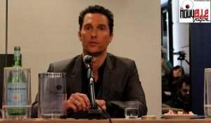 Matthew McConaughey durante la conferenza
