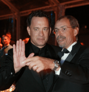 Angelo Maggi & Tom Hanks