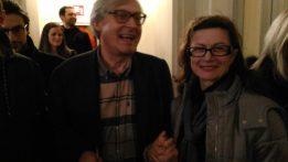Vittorio Sgarbi ed Emanuela Soldati