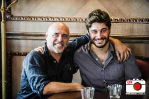 Lino Guanciale e Lorenzo Acquaviva