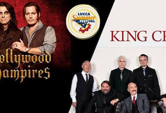 In poche ore la notizia che è già schizzata sul web. Annunciati alcuni degli artisti del Lucca Summer Festival:Hollywood Vampires eiKing Crimson.
