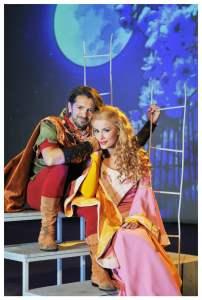 Manuel Frattini in Robin Hood il musical