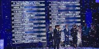 Sanremo 2018 : tutti i cantanti in gara