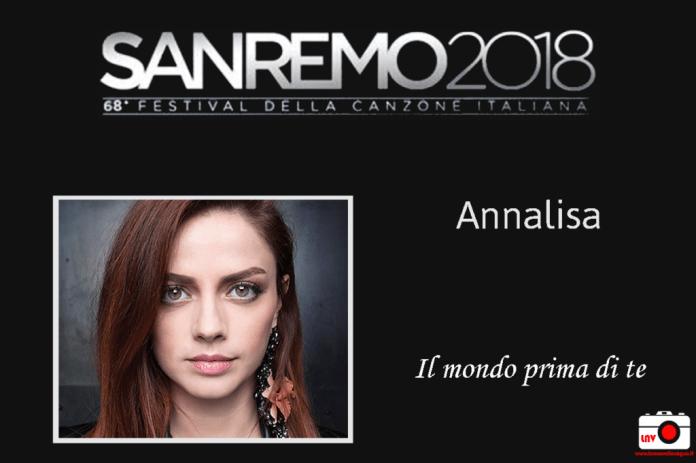 Festival di Sanremo 2018 - I Campioni - Annalisa