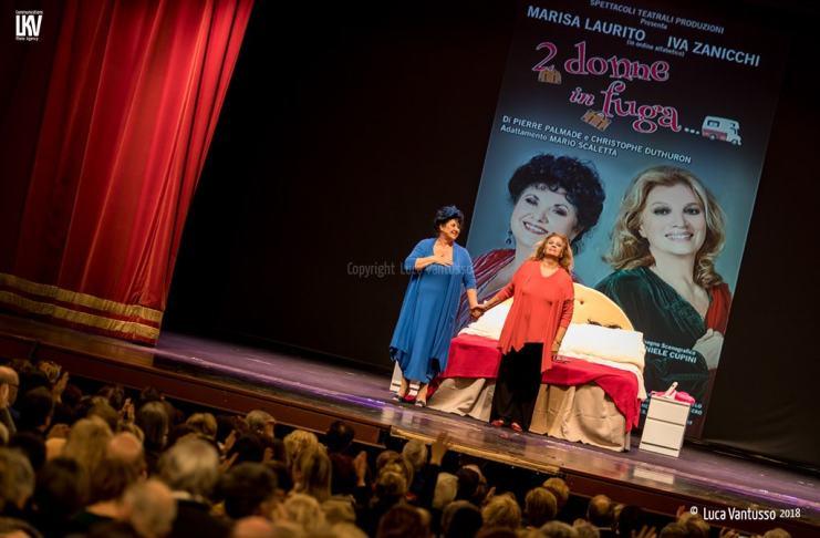 Iva Zanicchi e Marisa Laurito sono Due donne in fuga - Le foto di Luca Vantusso