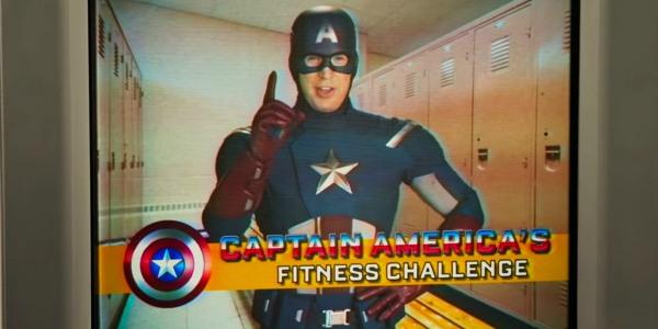Chris Evans in Spiderman: Homecoming