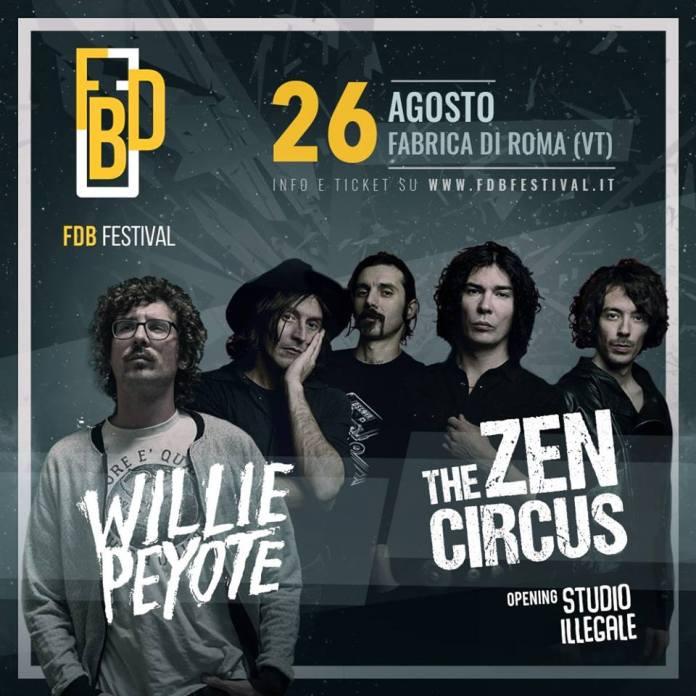 FdB Festival - Willie Peyote e Zen Circus