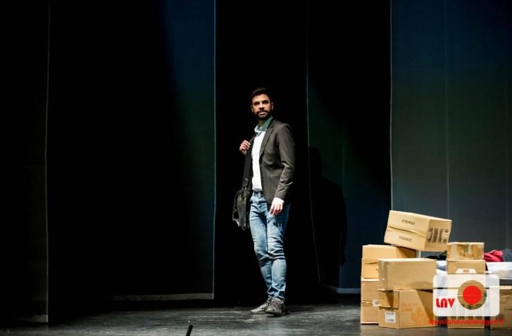 Una splendida giornata da clandestino, Teatro Miela - Trieste © Fabrizio Caperchi Photography / La Nouvelle Vague Magazine 2018