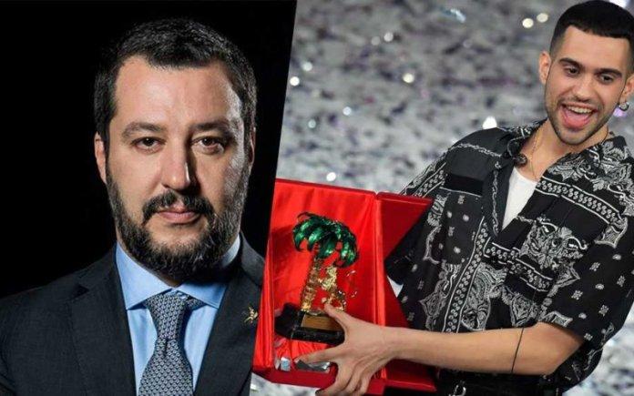 Mahmood vince Sanremo, Salvini twitta che faceva il tifo per Ultimo