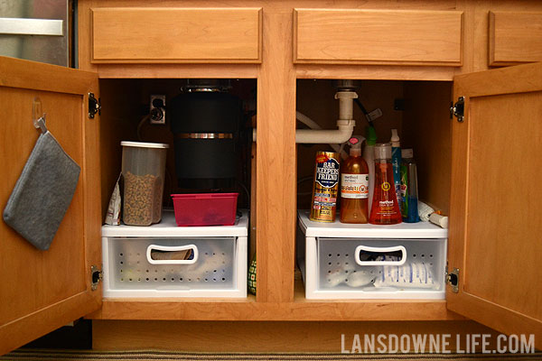 organizing the cabinet under the