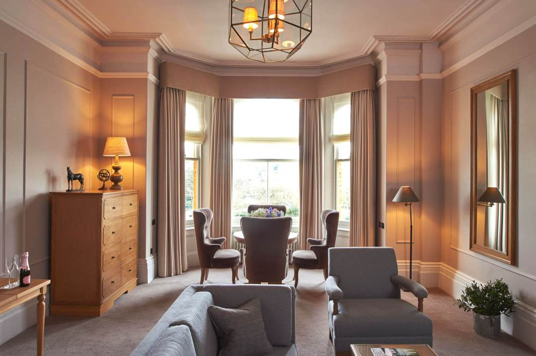 Interior style by the London designers Goddard Littlefair as seen in the Principal Hotel in York, England. Photograph: Pat Hansen