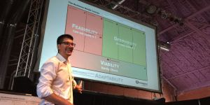Alex Osterwalder presenting Business Model Concepts at Strategyzer Masterclass workshop