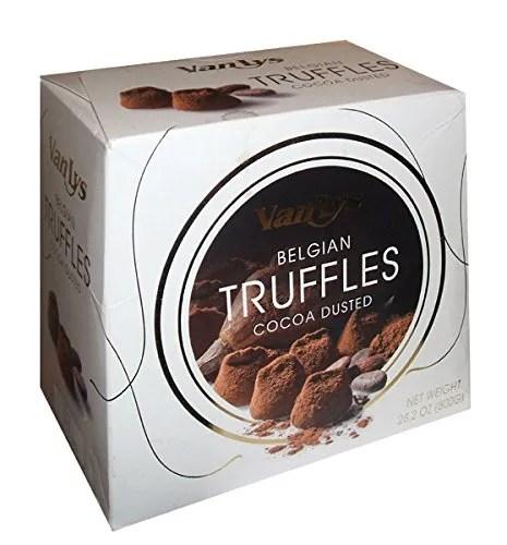 Van Lys Belgian Cocoa Dusted Truffles