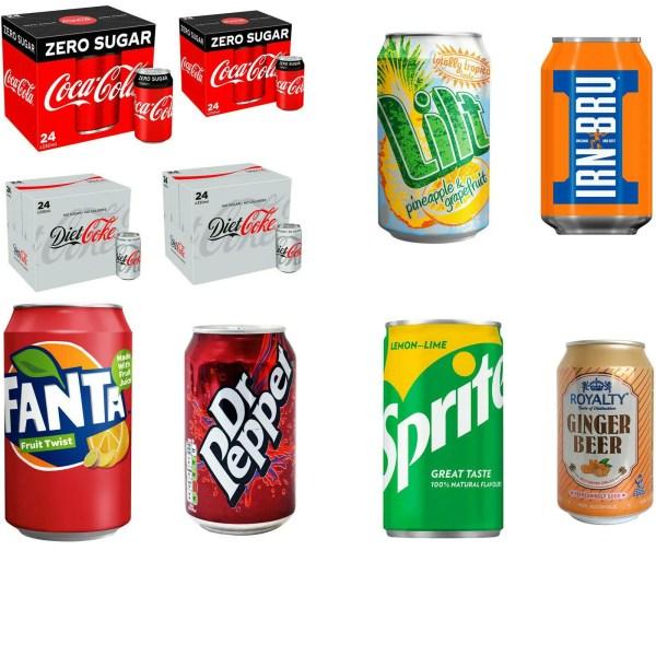 Buy Soft Drinks Wholesale