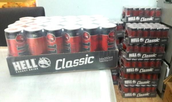 Hell Energy Drink 250ml