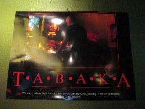 TABAKA motivational poster