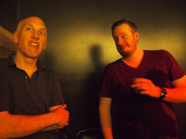 Chris and Mike
