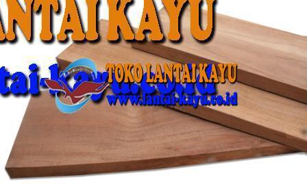 Lantai kayu jati kw 1 ukuran 20