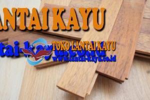 lantai kayu jati ukuran 30cm